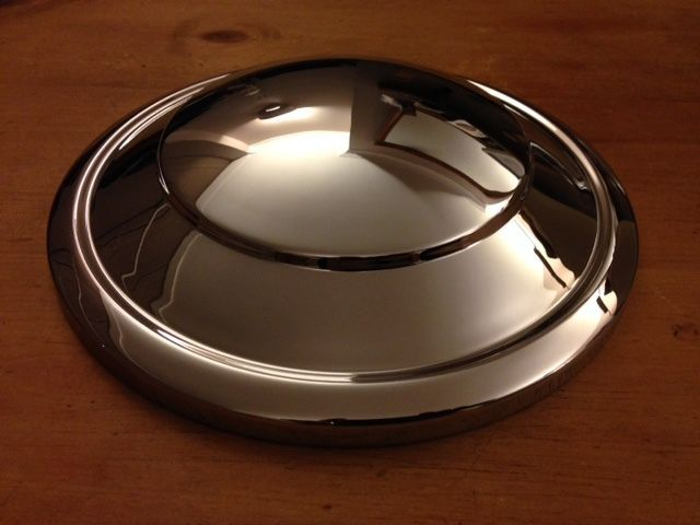 STANDARD FLYING 12 / 14HP BRAND NEW HUB CAPS MADE IN ENGLAND X 4 (FREE UK POST)